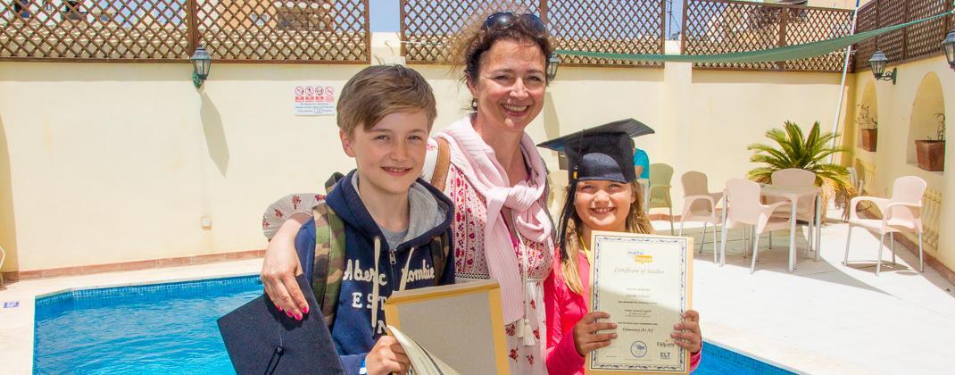Certificados del curso del programa familiar