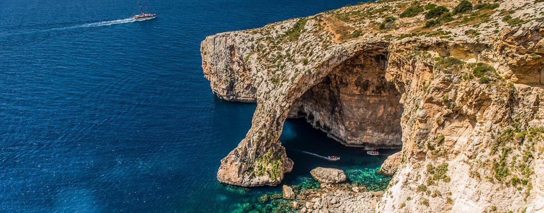 Blue Grotto viaje en barco