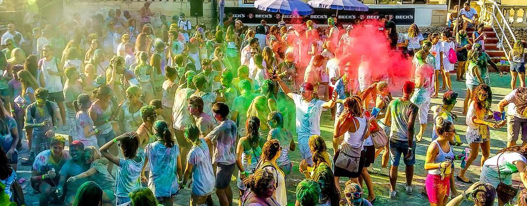 Holi Fiesta de color