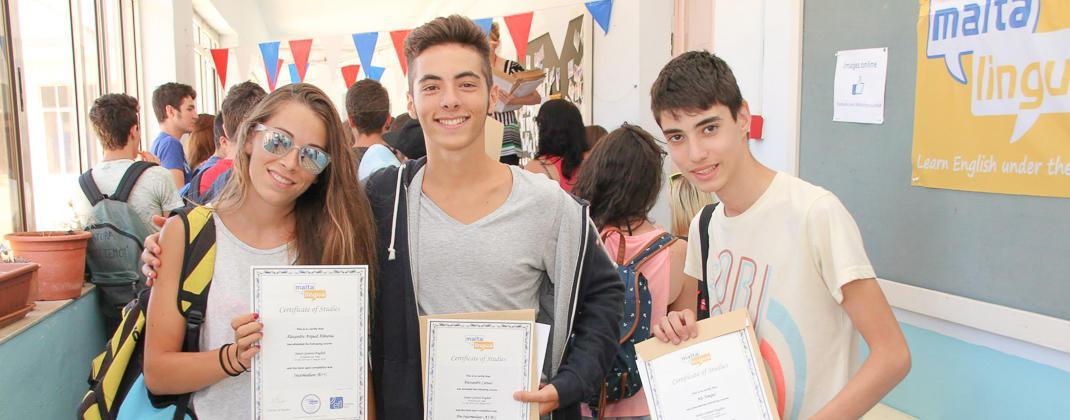 Certificados del curso para jóvenes