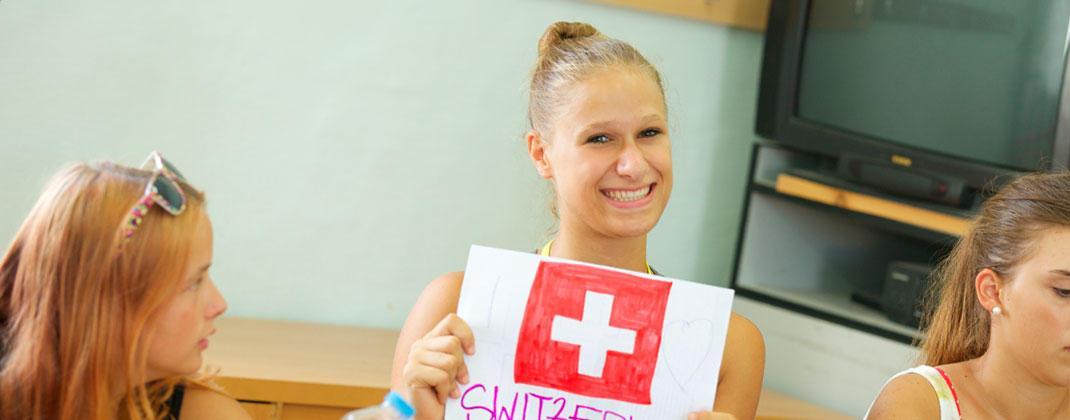 Estudiante suizo