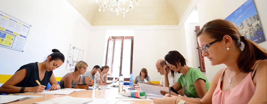 Escuela de lengua Malta