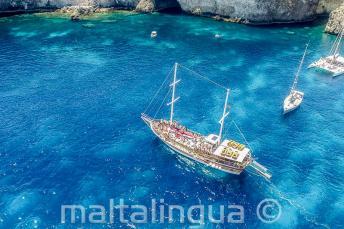 Viaje de la escuela a Crystal Bay, Malta