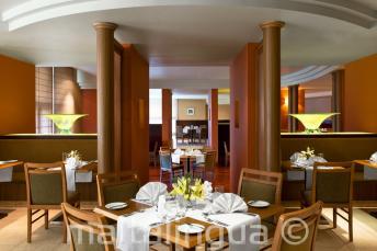 Restaurante del Hotel Le Meridien, St Julians