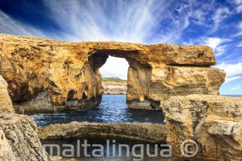 La Ventana Azul en Gozo