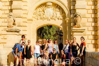 Tour guiado en inglés por Mdina