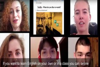 Estudie inglés en línea