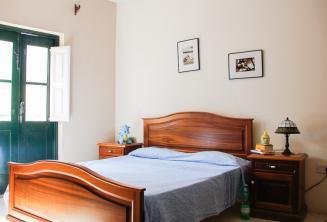 Dormitorio del alojamiento en familia de acogida en St Julians