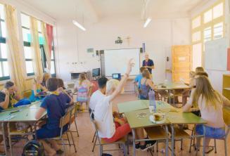 Clase de la escuela de verano